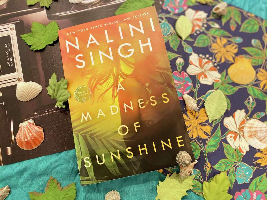 """A Madness of Sunshine"" by Nalini Singh explores the line between love and obsession. Photo: TinaMarie Craven / Hearst Connecticut Media /"