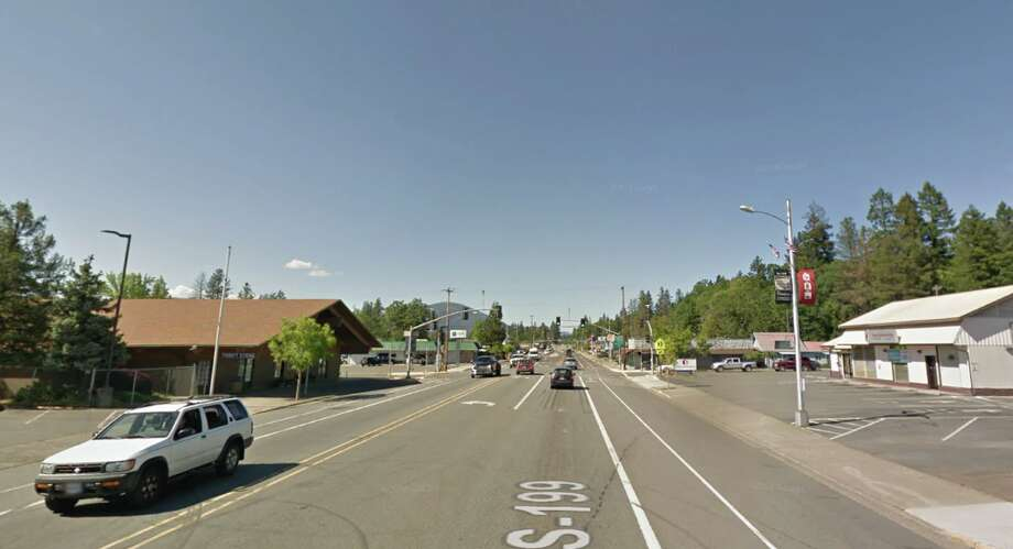 The main drag in Cave Junction, Ore. Photo: Google Maps