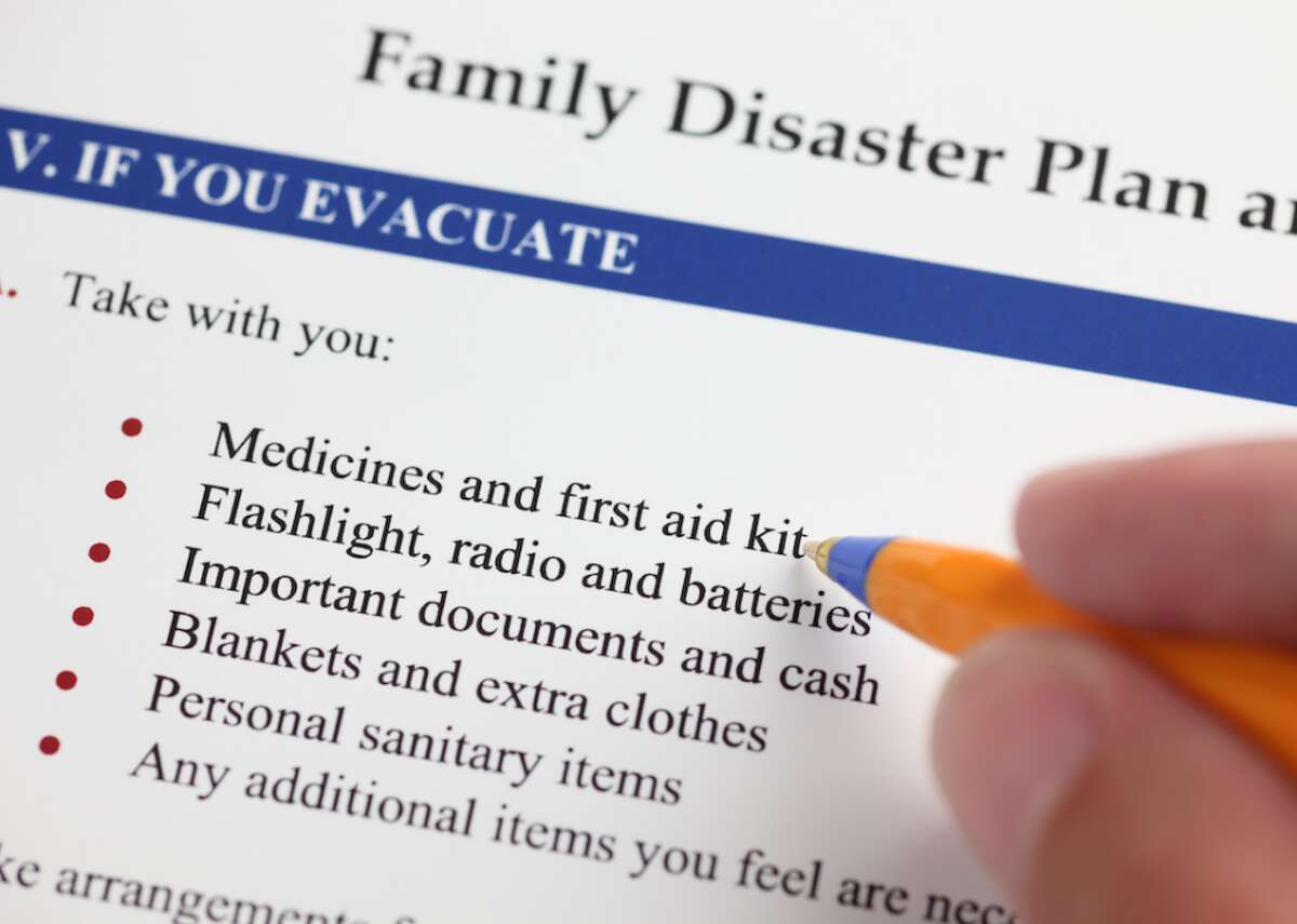 #1. Make an emergency plan with your family Foremost, experts recommend that everyone develop an emergency plan-regardless of the climate in which you live. Consider that you may not be together when a storm hits. According to the Department of Homeland Security, your plan should cover where you should evacuate in case of emergency, where you will find shelter if you can't make it home, and how you will communicate with your family. This slideshow was first published on theStacker.com