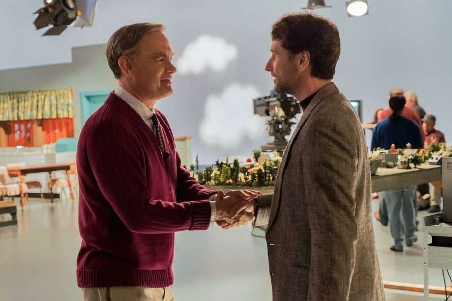 "Tom Hanks and Matthew Rhys star in ""A Beautiful Day in the Neighborhood."" Photo: TriStar Pictures / Contributed Photo"