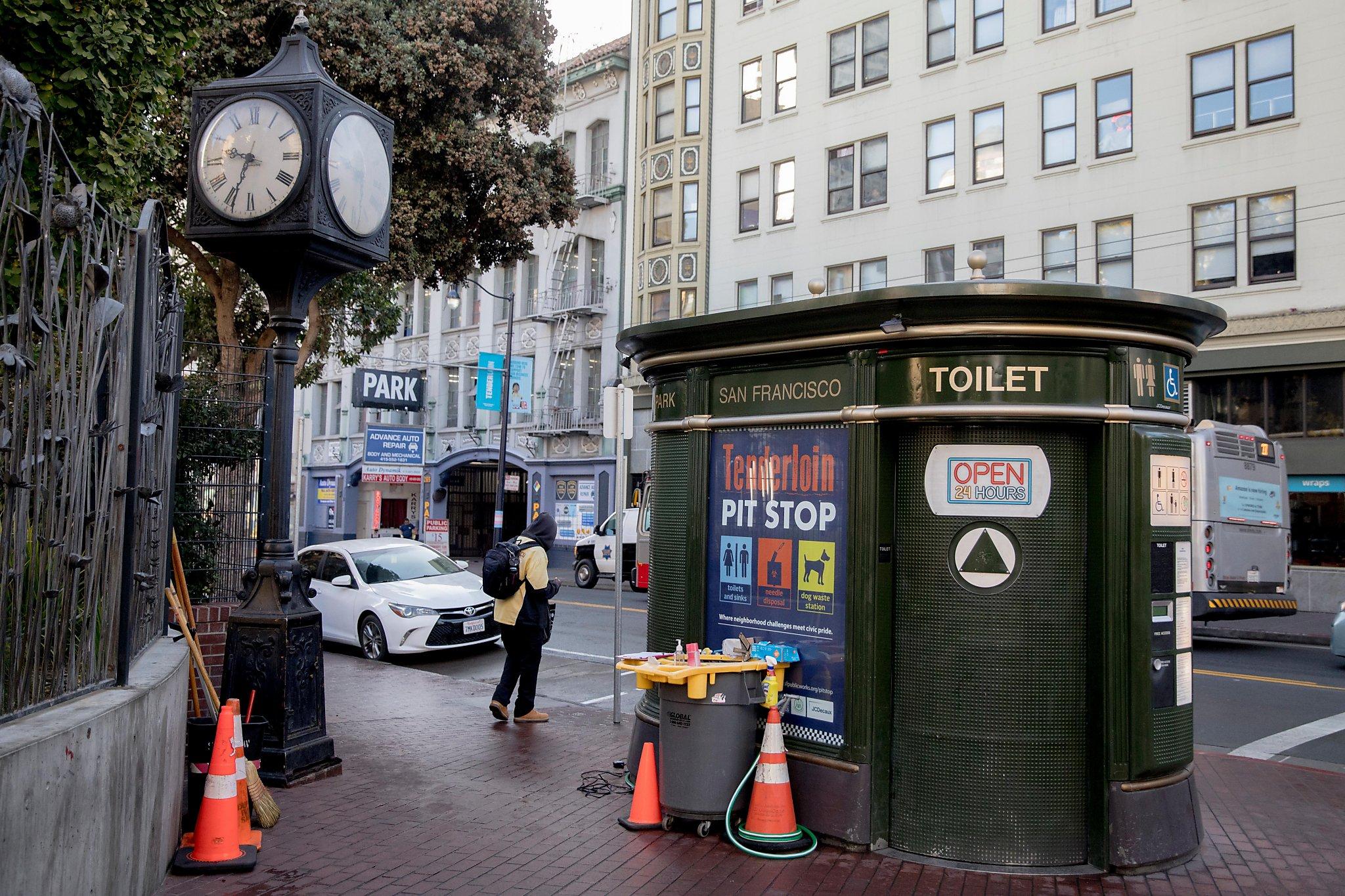 At $28.50 a flush, San Francisco leaders say public toilets worth it