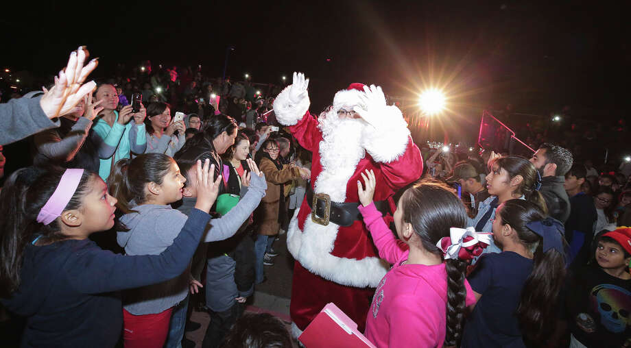 In this file photo, large crowds enjoy Navidadfest. Photo: Courtesy