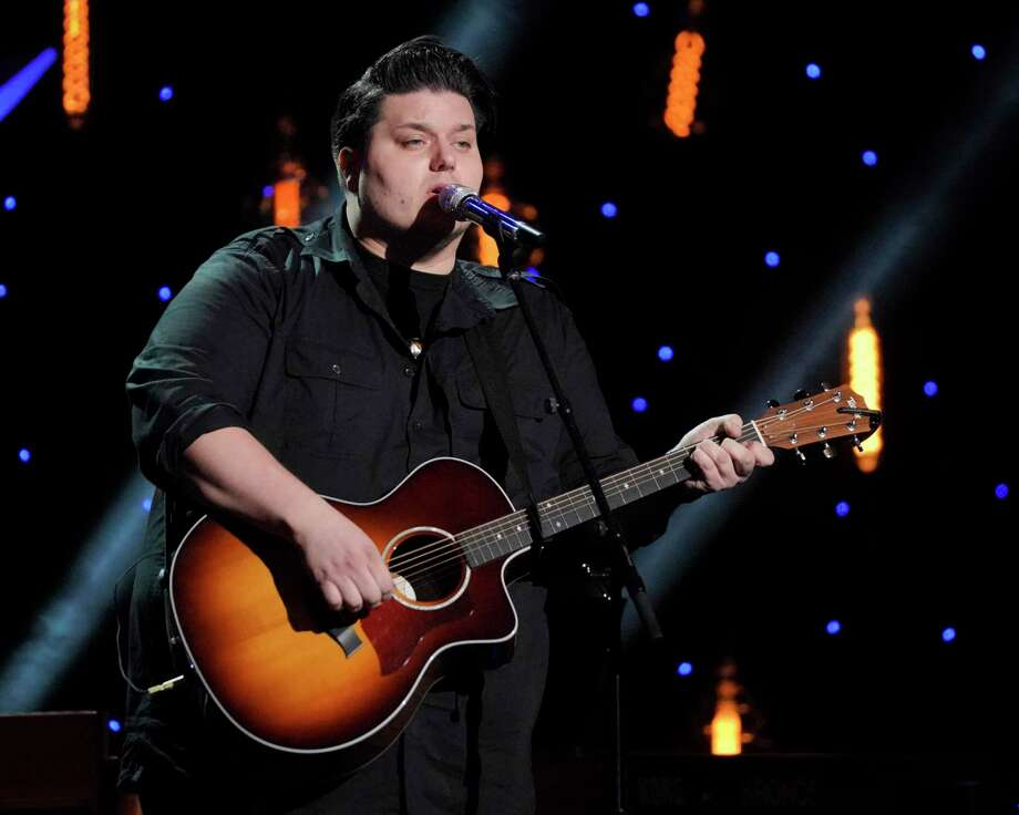 "Wade Cota, an ""American Idol"" finalist, will perform a free show at the Wall Street Theater in Norwalk Dec. 6. Photo: Eric McCandless / Walt Disney Television / Getty Images / 2019 American Broadcasting Companies, Inc."