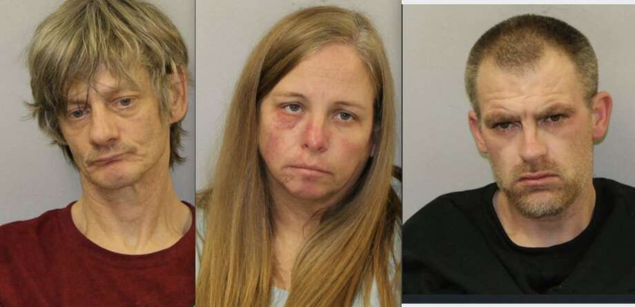 From left, Timothy Allen Dahlke, Tammy Lynn Wright and Robert Thomas Wright Jr. are facing a variety of retail fraud and methamphetamine charges. Photo: Photo Courtesy Of Mecosta County Sheriff's Office