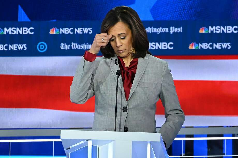 Click through the slideshow to see reactions to Kamala Harris dropping out of the presidential race. Photo: Saul Loeb / AFP Getty Images