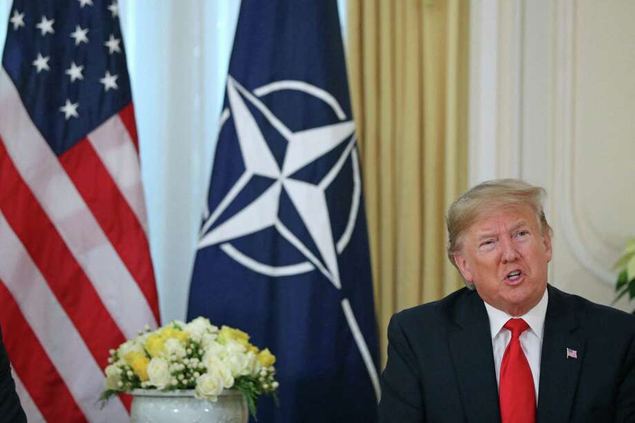 President Donald Trump Photo: Jonathan Brady / Associated Press / Abaca Press
