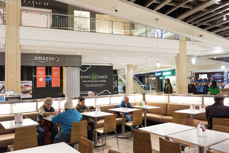 A new Shake Shack is opening in the Westfield Center's lower-level food court in 2020. Photo: Blair Heagerty / SFGate