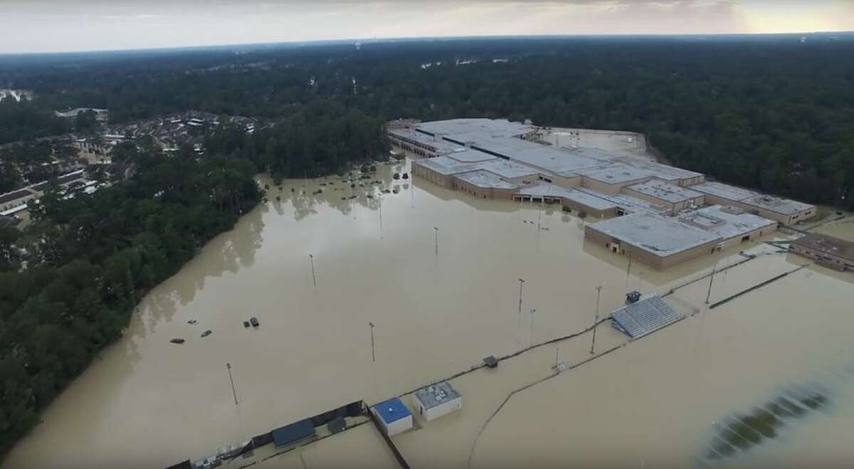 PHOTOS: Looking back at Tropical Storm ImeldaFlooding at Kingwood High School is shown in this aerial photo.>>>See more for images from when Tropical Storm Imelda hit Houston...