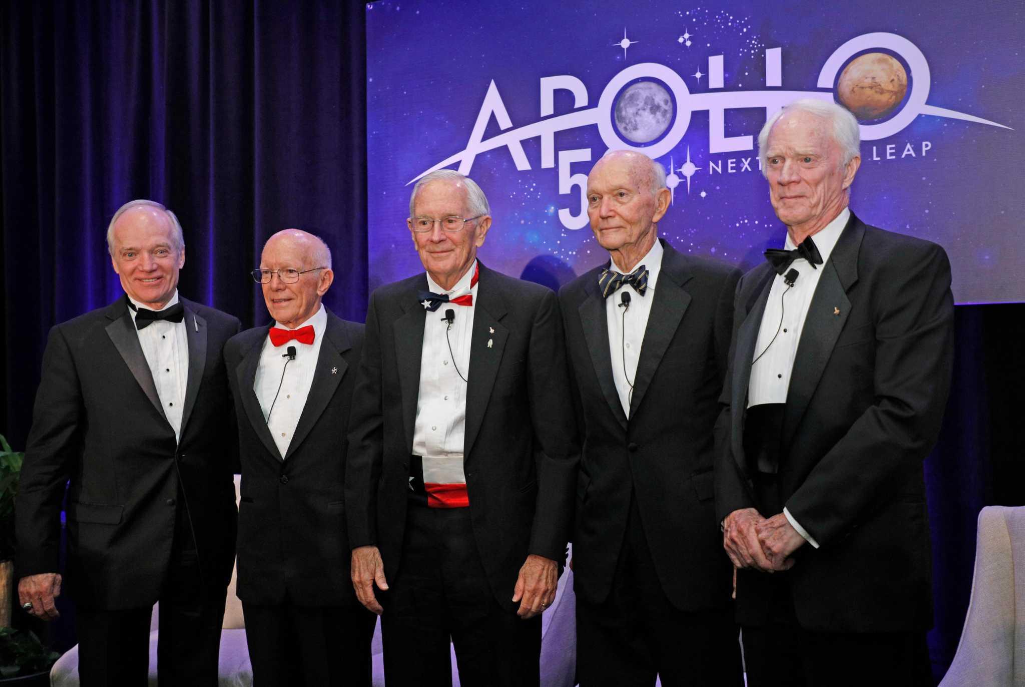 Apollo 16 astronaut Charlie Duke named 2020 Texan of the Year