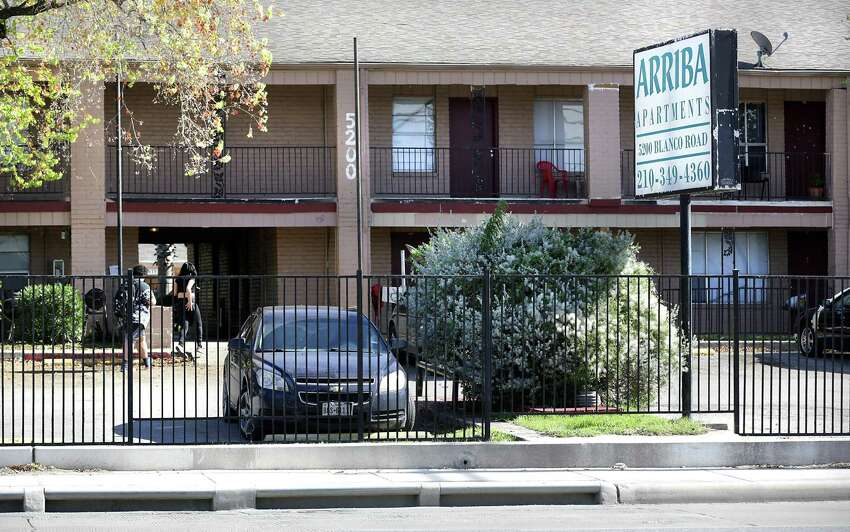 Michael and Gary Petersen were told they were being evicted from their apartment at Arriba En Blanco after they filed multiple complaints with the landlord. The Petersens moved out of the complex, one of 21 owned by the Trif family.