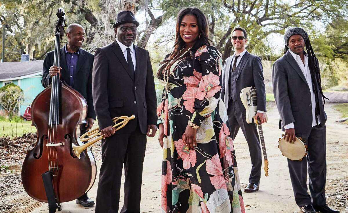 """Ranky Tanky, a Charleston, South Carolina-based band, is performing at the Carver Community Cultural Center. The group is up for a Grammy for its second album, """"Good Time."""""""