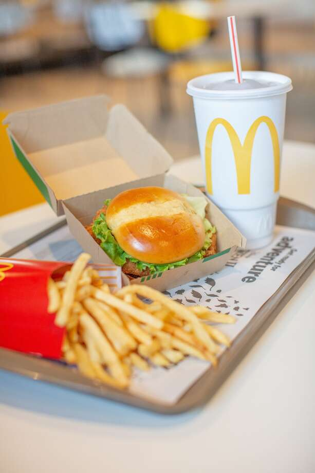 McDonald's Crispy Chicken Sandwich will be available in select Houston and Knoxville locations as the company teststhe waters of the chicken sandwich market. Photo: McDonald's