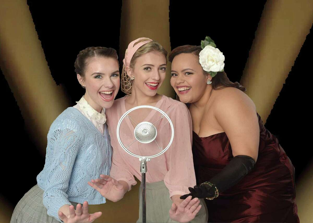 Grace McGovern, left, Victoria Wall and Cynthia Rivera in a scene from