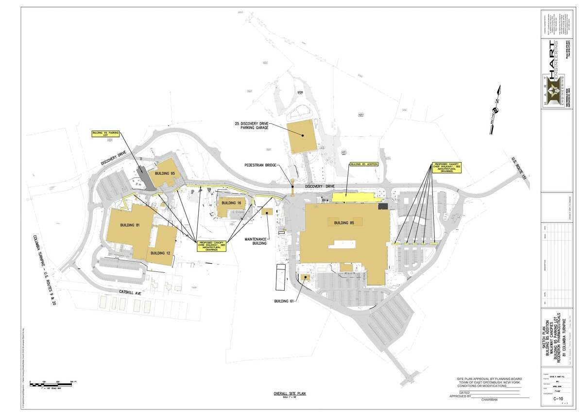 The Discovery Drive Campus plan