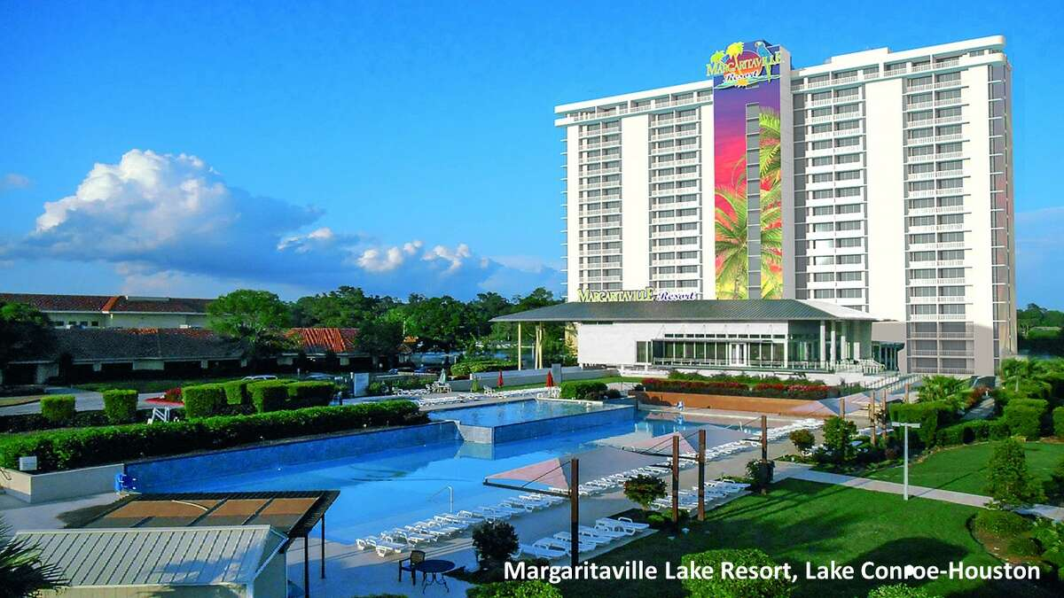 ConroeA Jimmy Buffett Margaritaville Resort is expected to open along Lake Conroe by summer 2020.The 186-acre waterfront resort will feature its own 20-story luxury hotel tower, Buffett-themed restaurants, an 18-hole golf course and a three-acre lakefront waterpark,