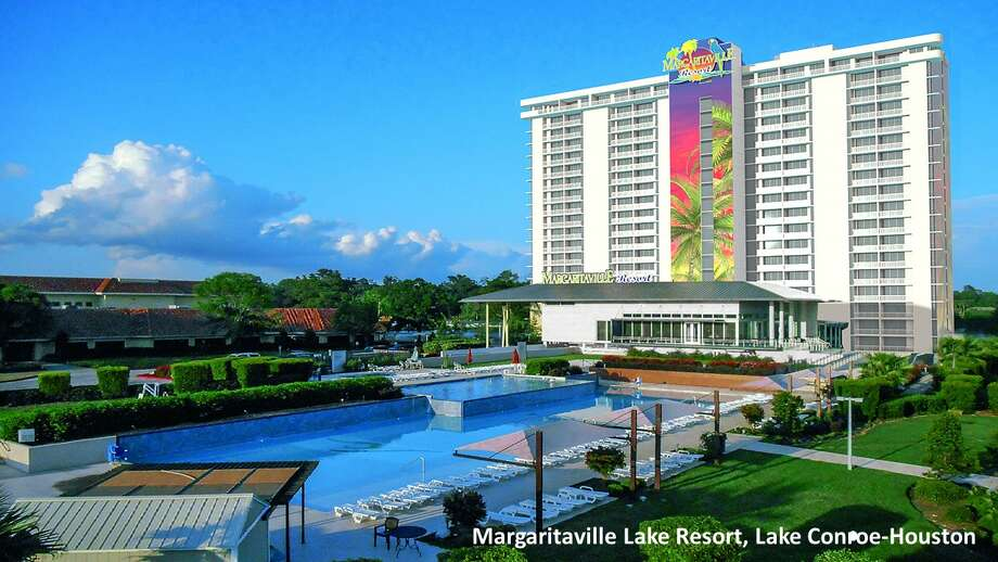 ConroeA Jimmy Buffett Margaritaville Resort is expected to open along Lake Conroe by summer 2020. The 186-acre waterfront resort will feature its own 20-story luxury hotel tower, Buffett-themed restaurants, an 18-hole golf course and a three-acre lakefront waterpark, Photo: Courtesy Songy Highroads