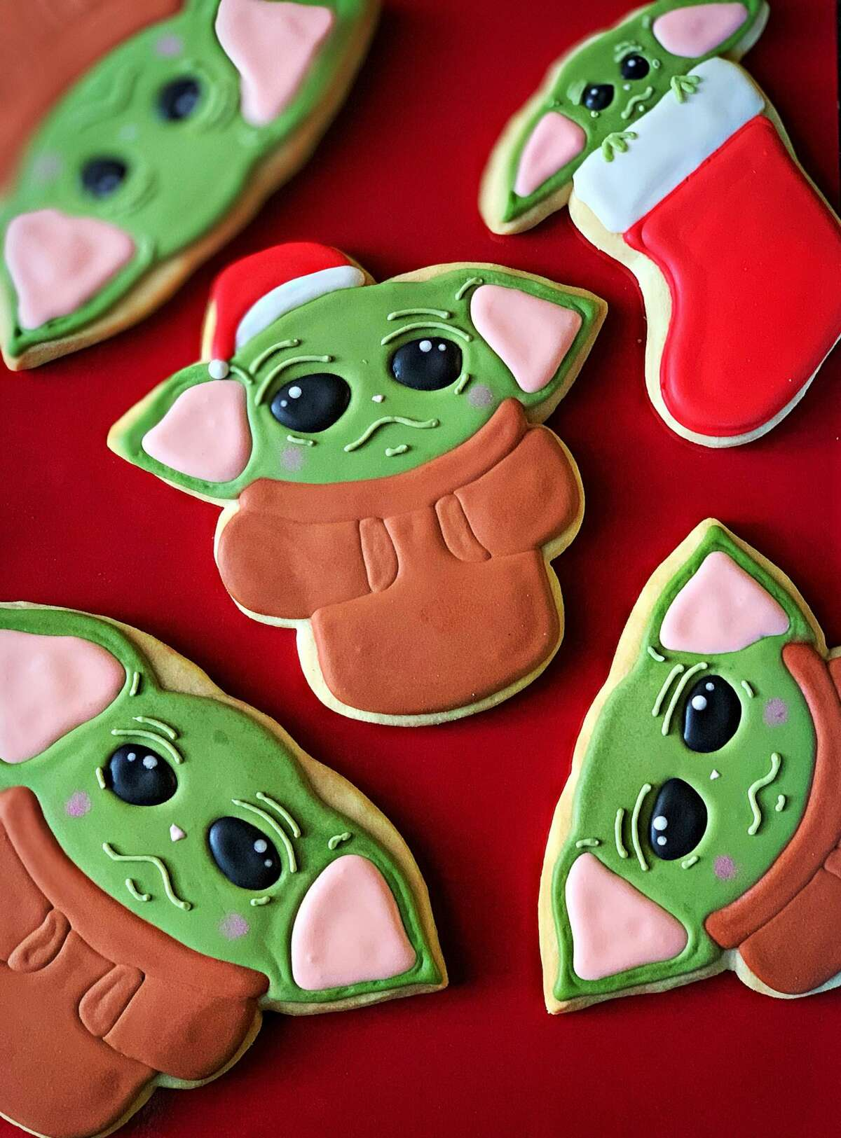 The Bread Box is selling Baby Yoda cookies celebrating the popularity of the new Star Wars character.