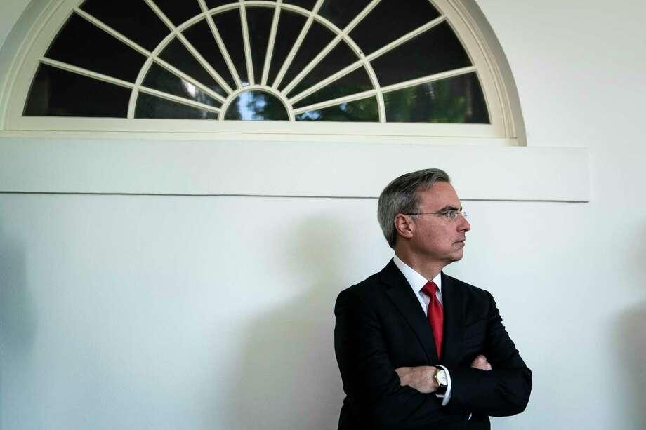 White House counsel Pat Cipollone. Photo: Washington Post Photo By Jabin Botsford / The Washington Post
