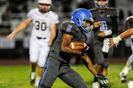 Sierra-Manteca running back Kimoni Stanley has rushed for 1,700 yards and 31 touchdowns this season.