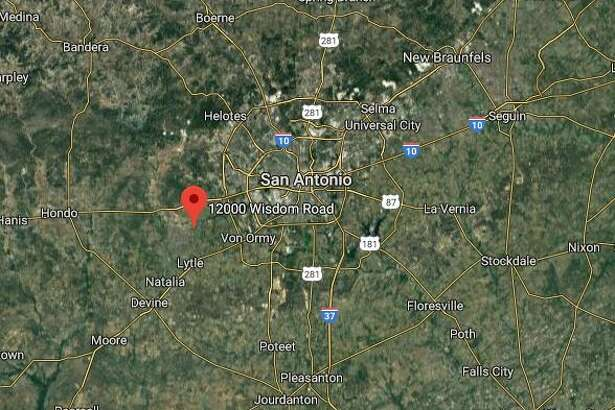 A Google map shows the area of the 12000 block of Wisdom Road where officials said human remains were found after a fire was reported Tuesday, Dec. 3, 2019.