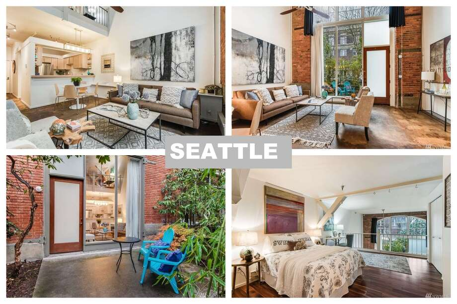 In Seattle, $700K doesn't go far when it comes to condos in high demand neighborhoods. This $669,500 unit is 1 bed, 1.5 bath. At 878 square feet, that means a price of $763 per square foot. Photo: Redfin