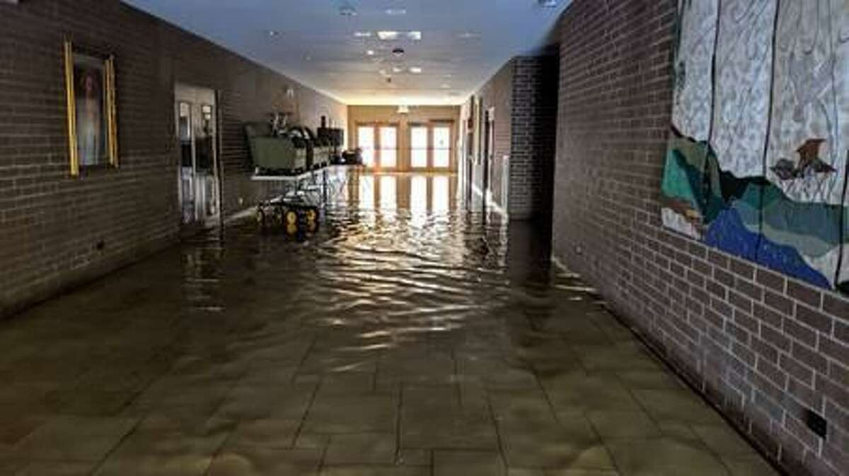 St. Philip the Apostle Catholic Church in Huffman received about 6 inches of water from Tropical Storm Imelda on Sept. 20, 2019.