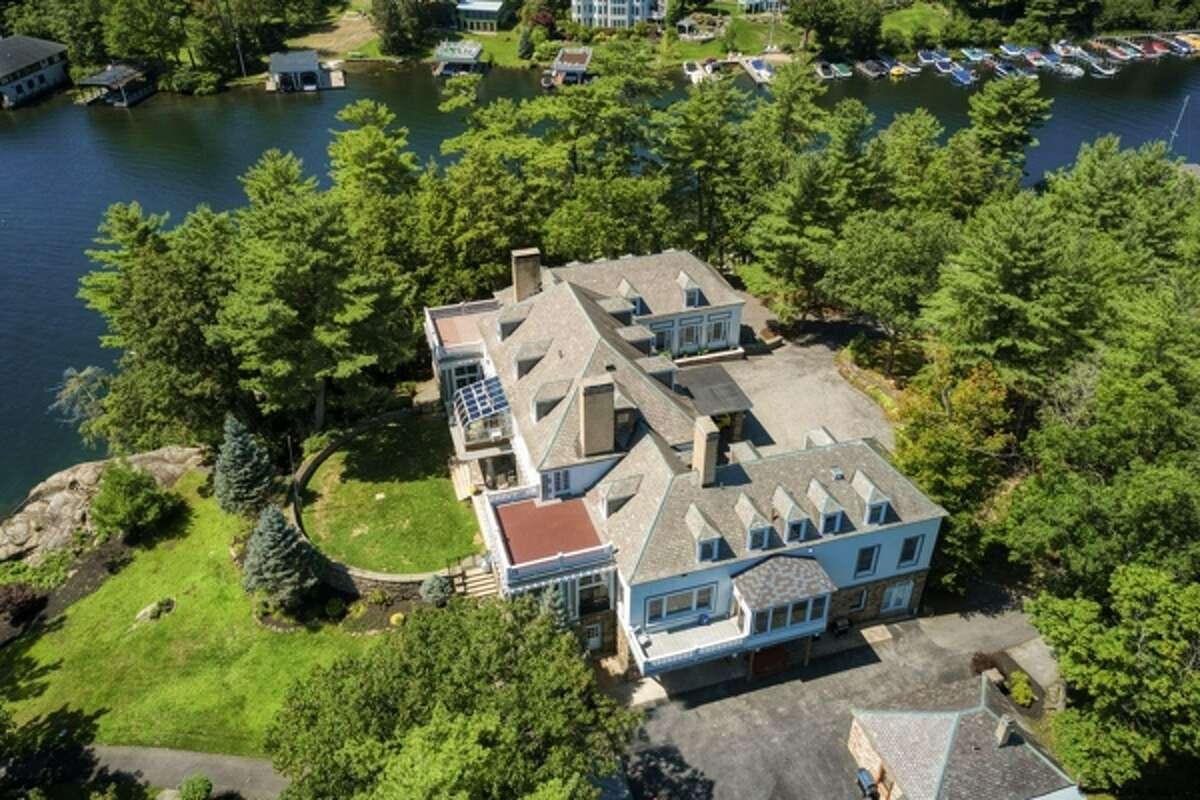 $15 million. 114 Green Harbor Lane, Lake George, N.Y. See the listing.