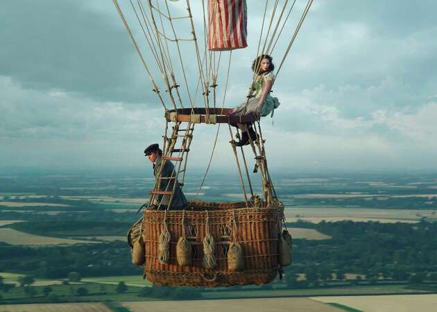 Review: 'The Aeronauts' one of most excruciating movie displays of heights in years