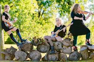 The Dead Roses, from left, Sarah Springman-Shewmake, Mila Raye Duffy and Erin Jo Paddlefoot. The Dead Roses recently booked a tour that includes Kansas City, Missouri, Nashville, Tennessee, and Austin Texas.