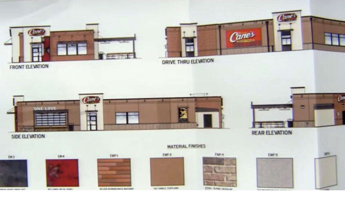 Screens captures taken from social media show the proposed location where Raising Cane's will build their first restaurant in Laredo.