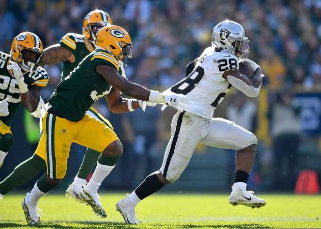 Raiders' Jacobs perseveres through injury to craft 1,000-yard season