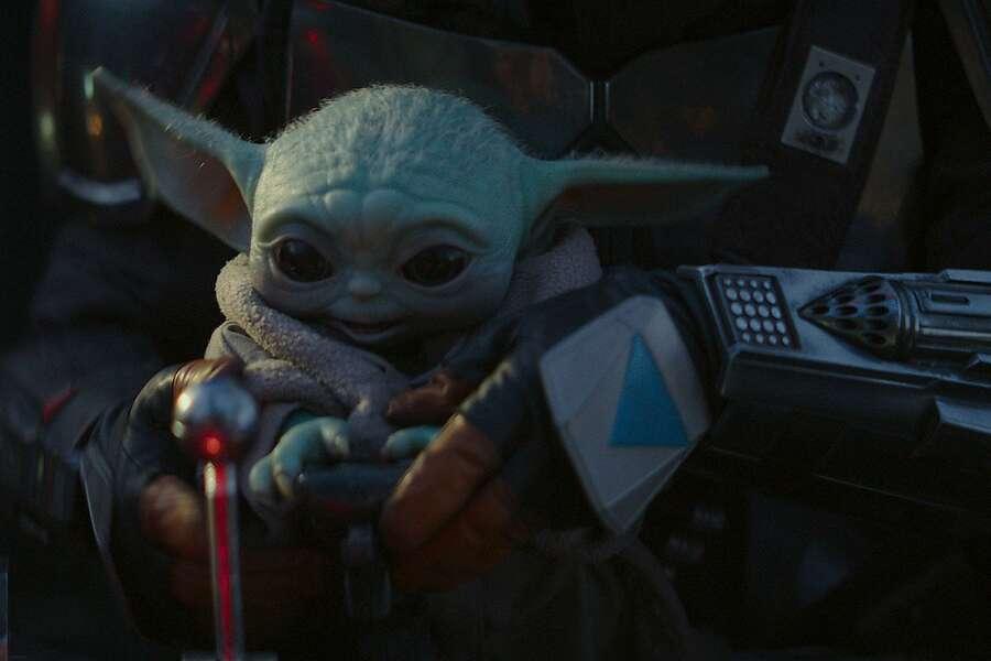 "Baby Yoda is the breakout star of ""The Mandalorian."" (Disney/TNS) Photo: Disney, TNSS"