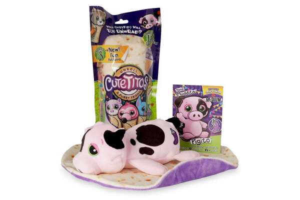 """Cutetitos - Mystery Stuffed Animals - Full product name: Cutetitos - Mystery Stuffed Animals - Collectible Plush - Series 3 - Seller: Basic Fun - Amazon price: $9.97 - Amazon user rating: 4.8/5 stars - Link to the toy A toy designed for collecting, Cutetitos are packaged in a """"mystery bag"""" that keeps the animal inside a surprise until it's opened. Each bag contains a small stuffed animal wrapped in a burrito blanket, and the animal's collector card which tells the recipient all about the new toy's personality. The third series of Cutetitos features 12 new animals, from penguins to pegasuses. This slideshow was first published on theStacker.com"""