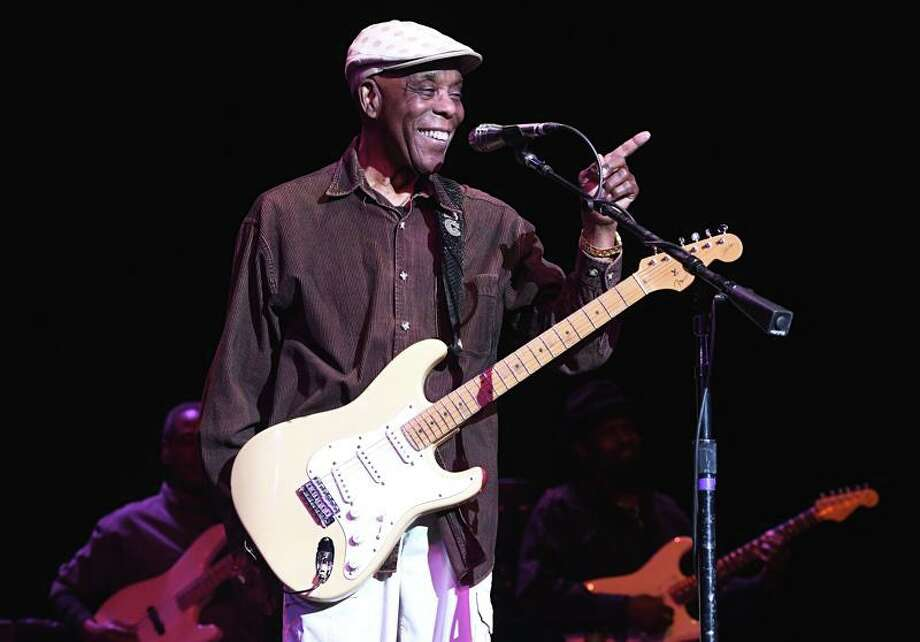 Blues guitarist Buddy Guy, 83, is shown having fun with his sold out crowd of fans at the Palace Theater in Waterbury on Nov. 17, 2019. The blues legend teamed up with the Kenny Wayne Shepherd Band for a double bill show that entertained the capacity crowd. To learn more about Buddy Guy you can visit www.buddyguy.net Photo: John Atashian / Contributed Photo / / John Atashian