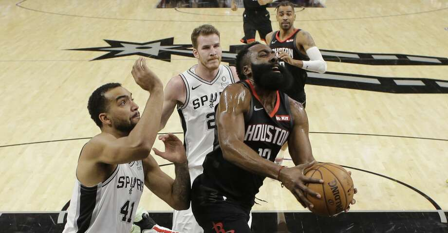 Rockets surrender 22-point lead, lose to Spurs in double overtime ...
