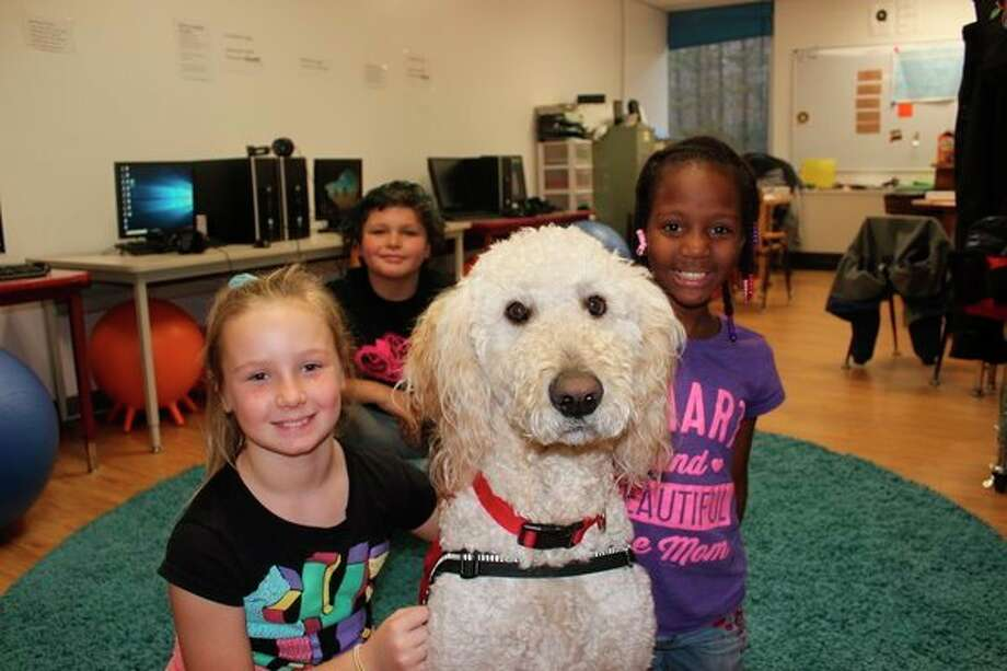 Whitaker has become very popular among Betsie Valley students. (Photo/Robert Myers)