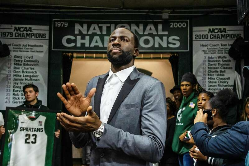 If Draymond Green is Warriors' heartbeat, Michigan State got it pumping