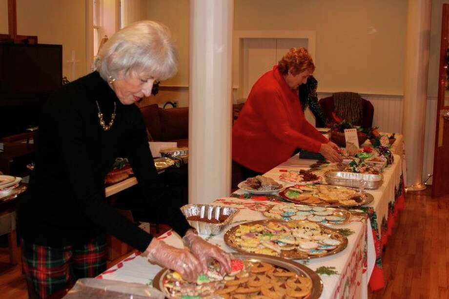 A cookie sale is one aspect of the First Congregational Church's Silver Tea. (File Photo)