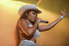Megan Thee Stallion in Concert for Red Bull at White Oak Music Hall near Downtown Houston on Tuesday, December 3, 2019