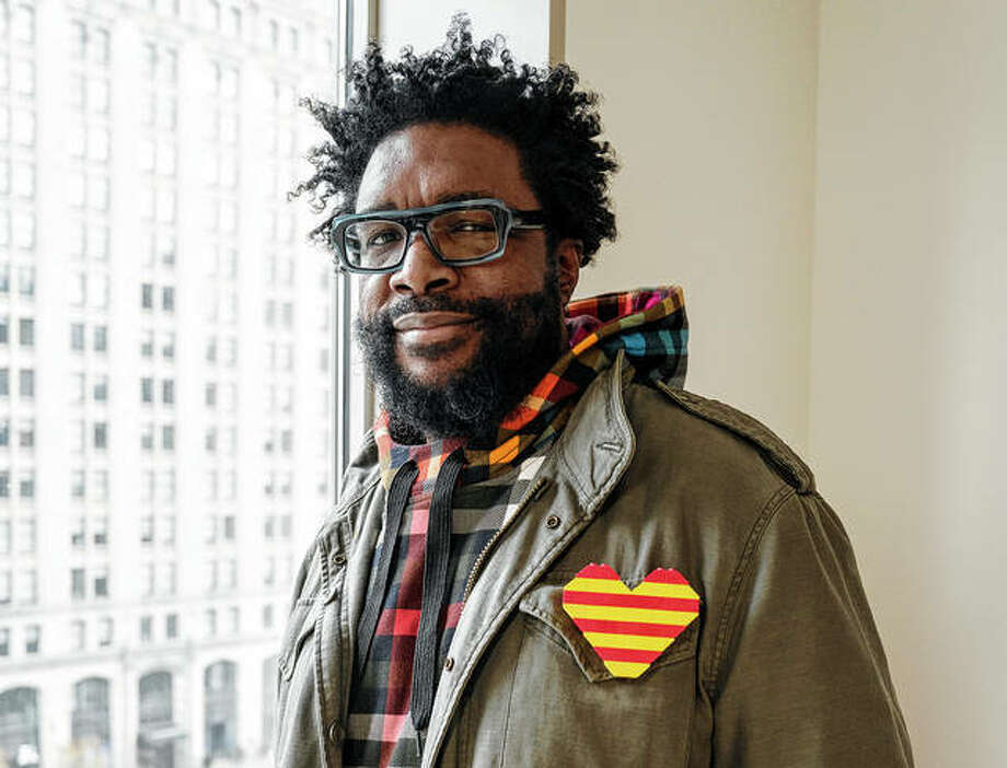 "Musician-author Questlove has written a cookbook, ""Mixtape Potluck,"" outlining his tips for a dinner party, with no detail too small to warrant special attention. Photo: Matt Licari 