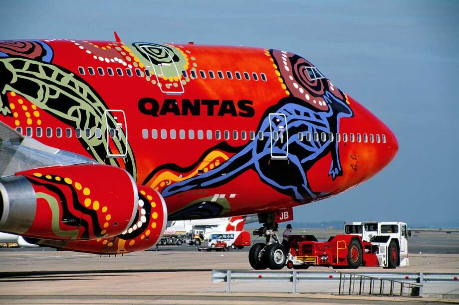 Qantas has canceled nearly all international flying through October, and will retire the last two of its once extensive 747 fleet this month.  Photo: Qantas