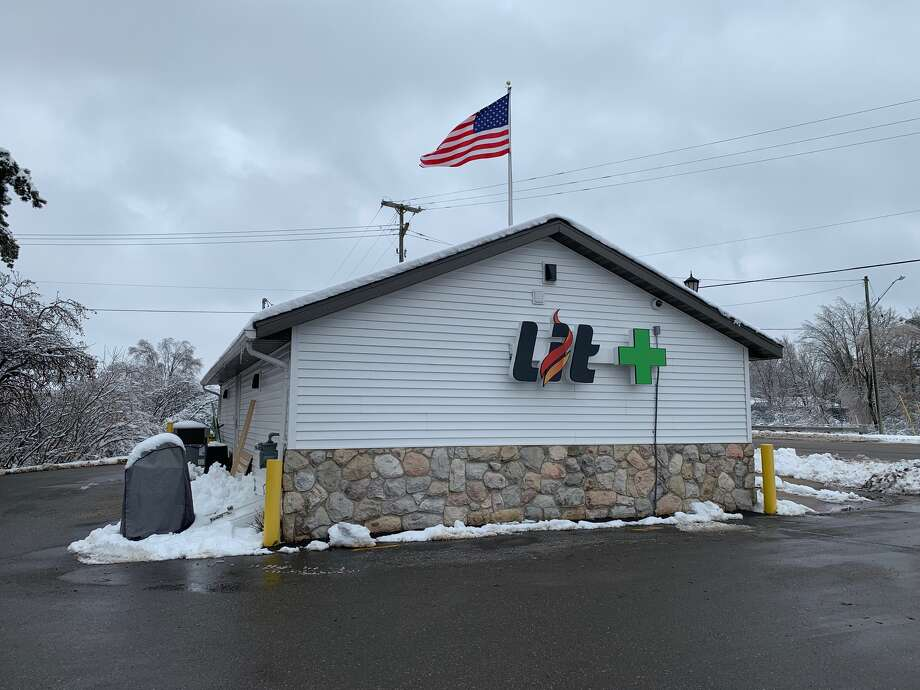 Lit Provisioning Center, 600 W. 7th St., in Evart, is pictured Tuesday. Lit will become the first northwest Michigan outlet to sell recreational marijuana when it opens Friday morning. Photo: Pioneer Photo/Cathie Crew