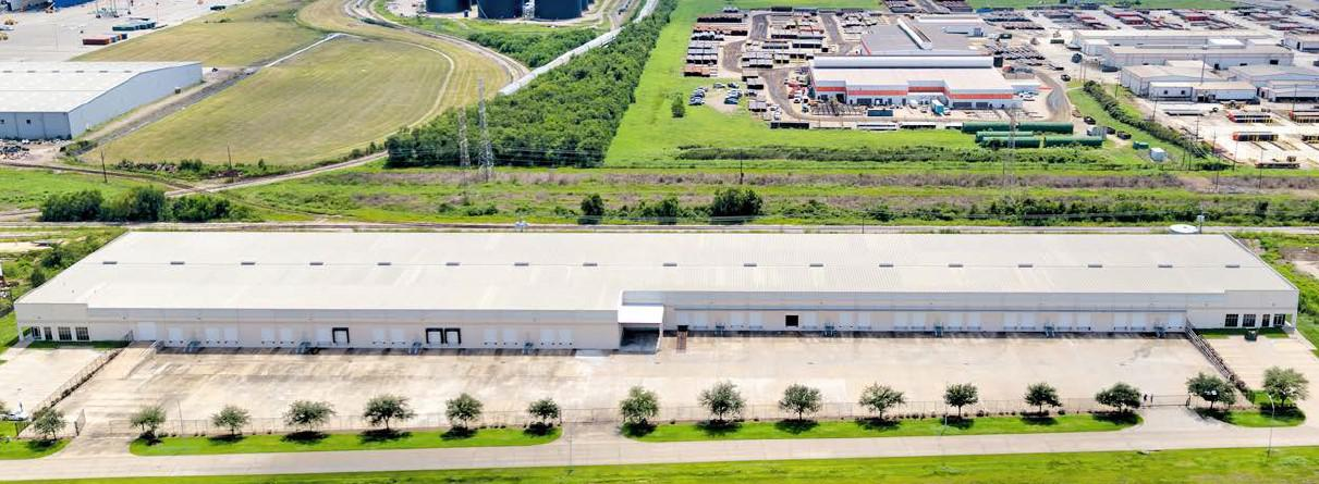 Real estate transactions: Lease at Beltway-225 Business Park