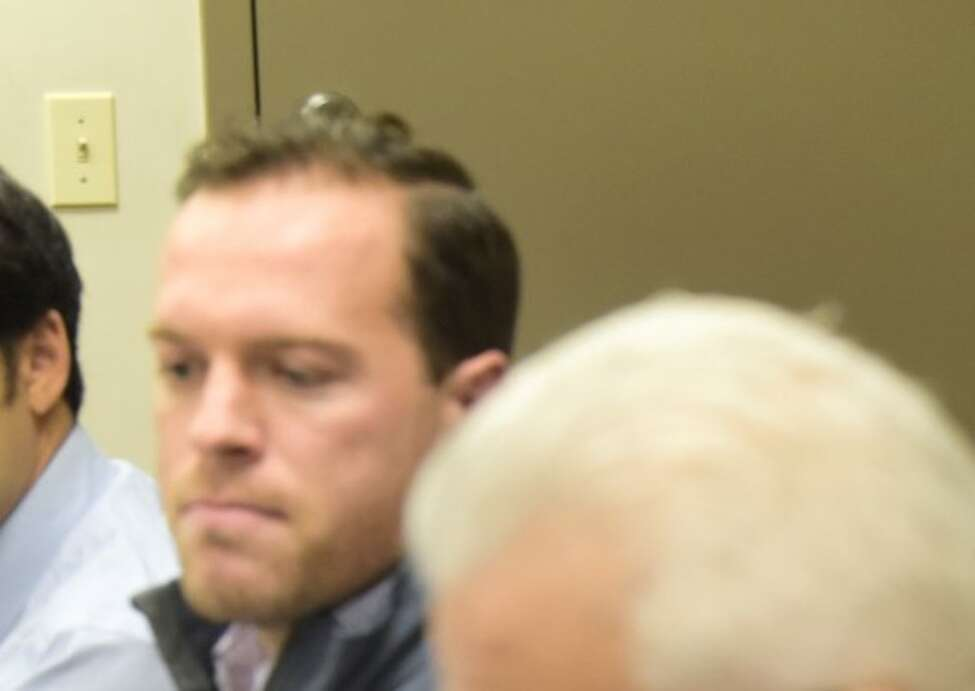Troy City Council member T.J. Kennedy attends a council meeting earlier this year.