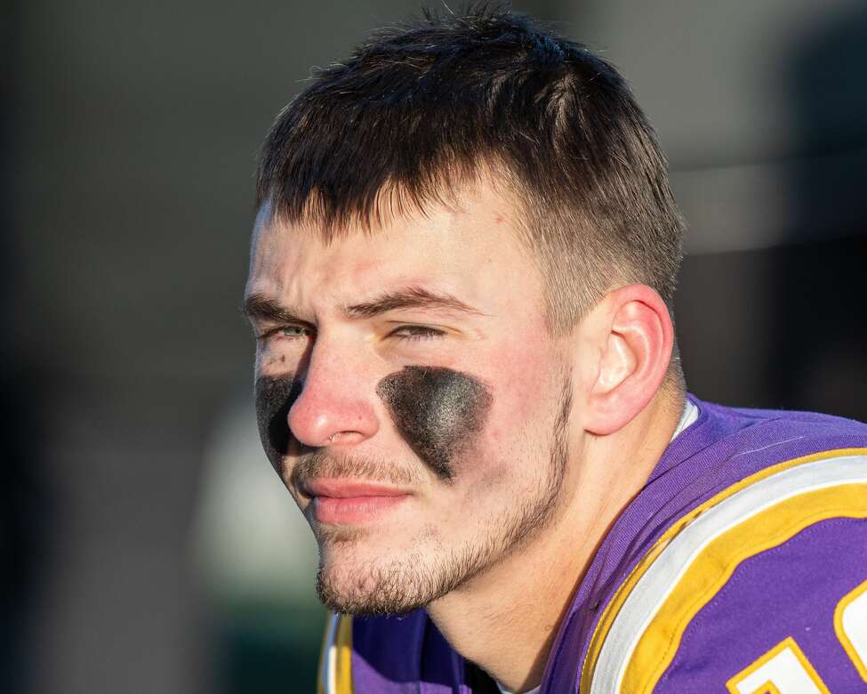 UAlbany quarterback Jeff Undercuffler threw a program-record six touchdown passes in a 42-14 victory over Central Connecticut on November 30, 2019. (Jim Franco/Special to the Times Union)
