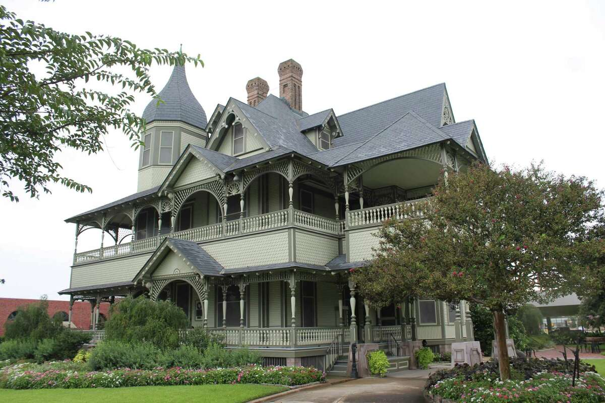 Among places to see on a weekend visit in Orange, Texas: the W.H. Stark House and the Stark Museum of Art.