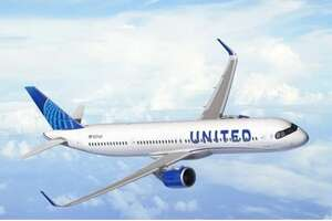 Rendering of the United A321XLR