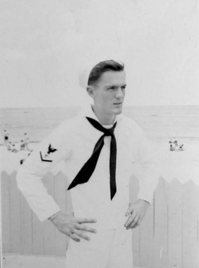 American Legion Post 44 of Bantam will honor the life of WW II Navy veteran, David Taylor Guernsey on Dec. 7. Photo: Contributed Photo