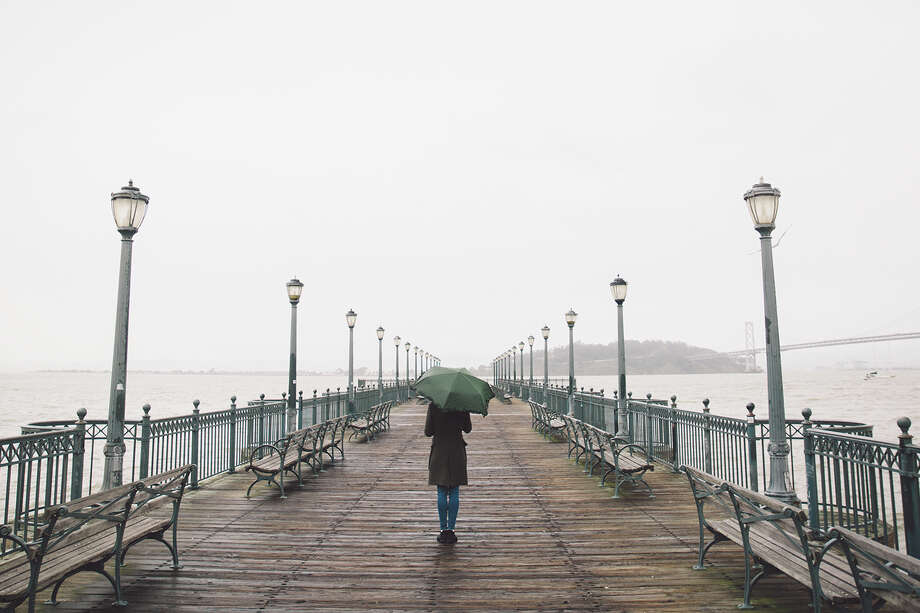 More rain is in the forecast for the Bay Area this week. Photo: Getty Images