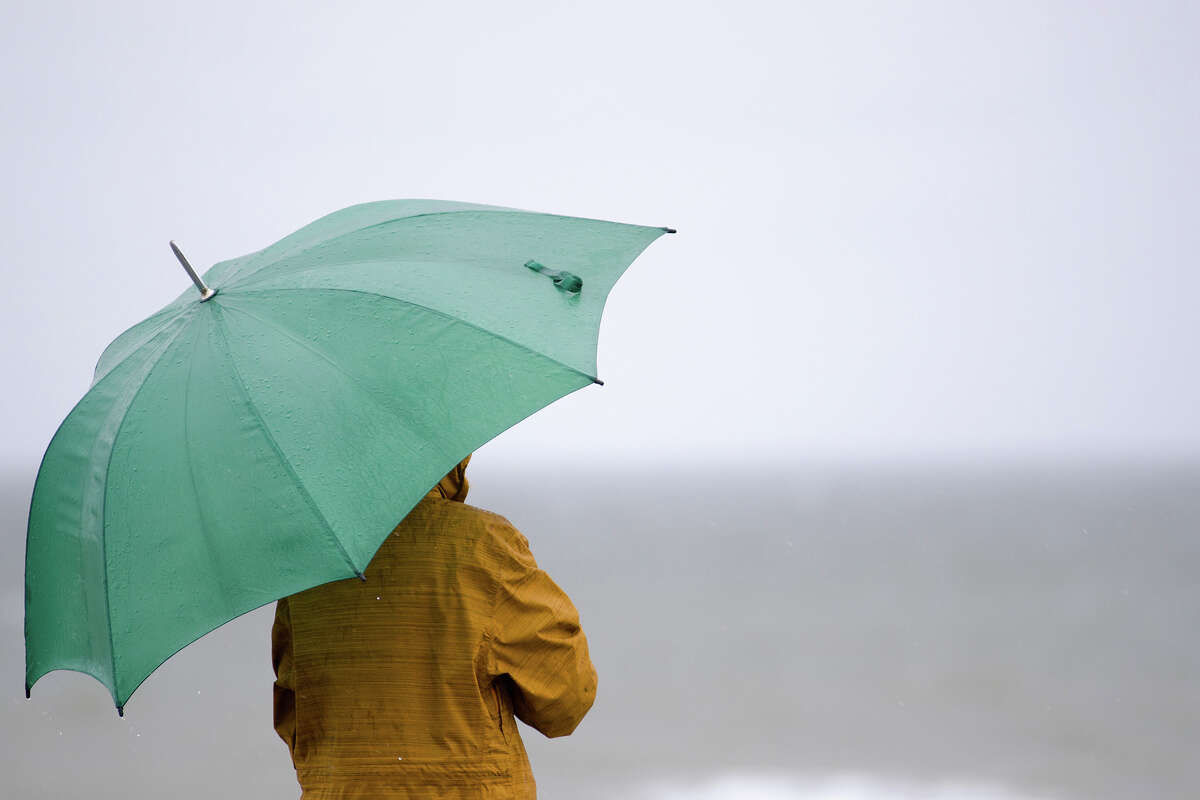A cold front is expected to make landfall on the West Coast Thursday, delivering rain and wind to the Bay Area.